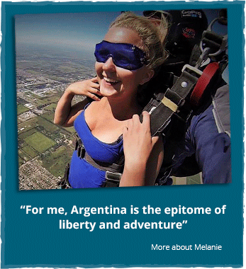 South America Argentina - Melanie's experiences