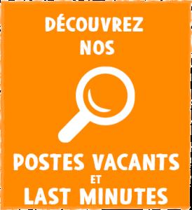 Gap Year - Postes Vacant et Last Minutes