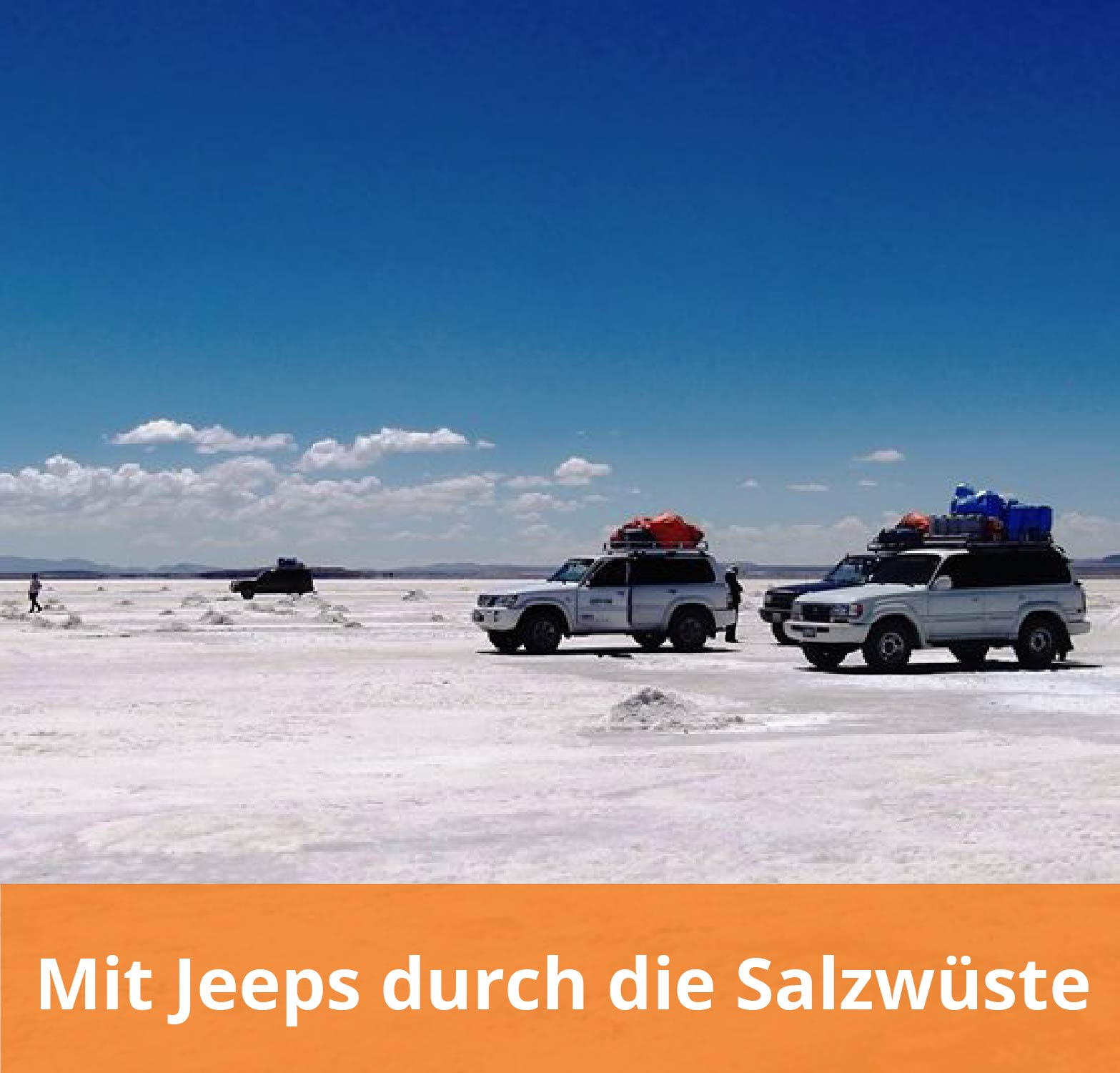 Auslandsaufenthalt in Argentinien Salzwüste