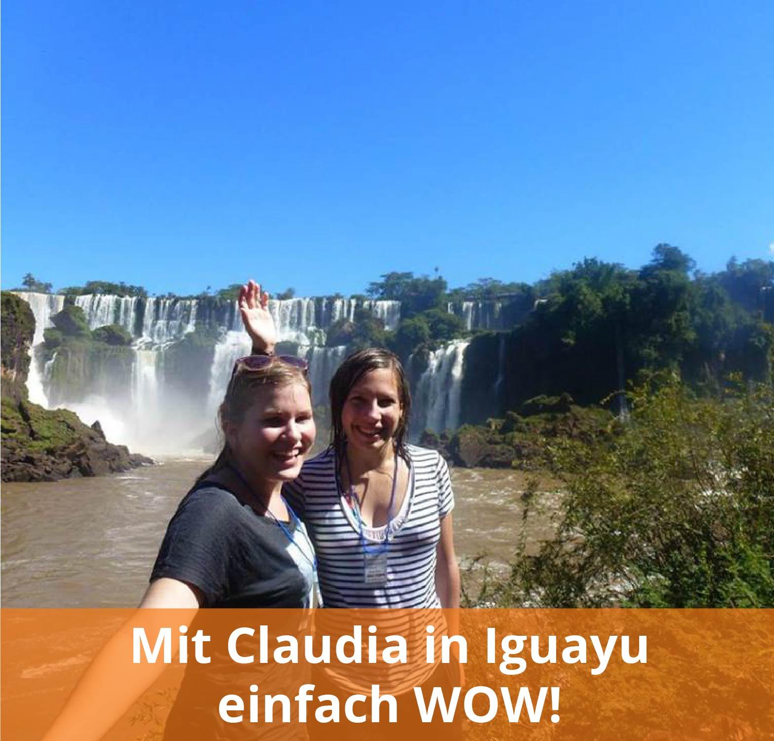 Auslandsaufenthalt in Argentinien Iguazu