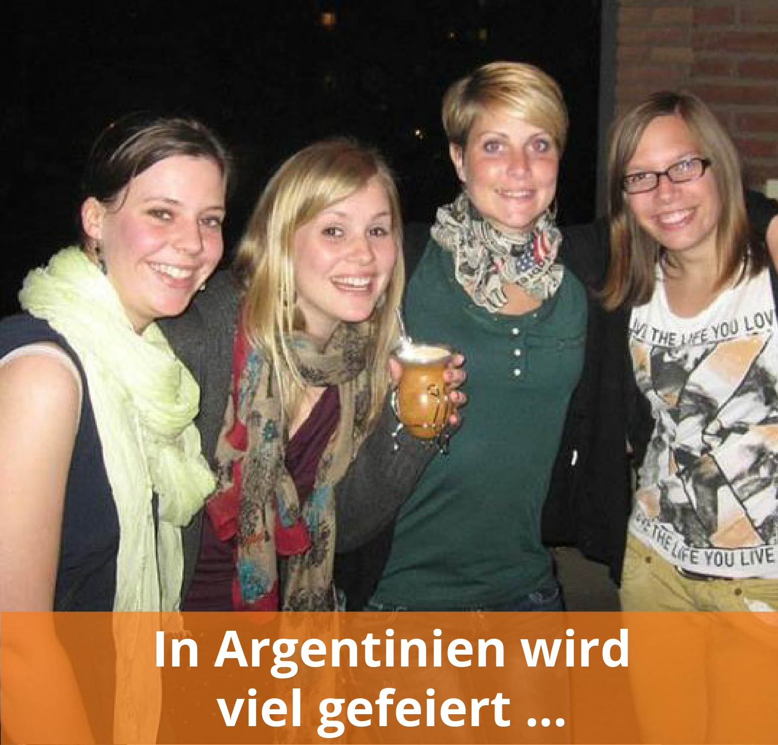 Auslandsaufenthalt in Argentinien gefeiert