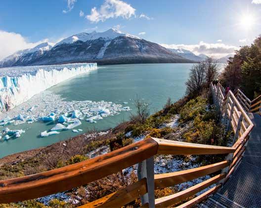 Spanisch lernen in Südamerika: Gletscher