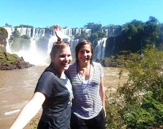 Spanisch lernen in Südamerika: Iguazu Wasserfälle