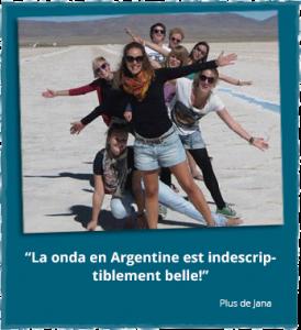 Rapport d'expériences de Jana concernant son volontariat en Amérique du Sud