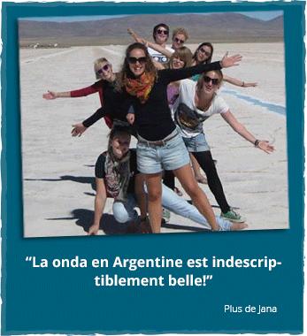 Volontariat en Argentine - Rapport d'Expérience de Jana