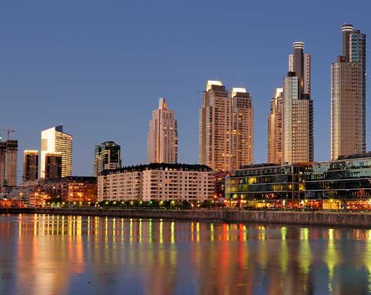 Spanisch lernen in Südamerika: Buenos Aires Hafen