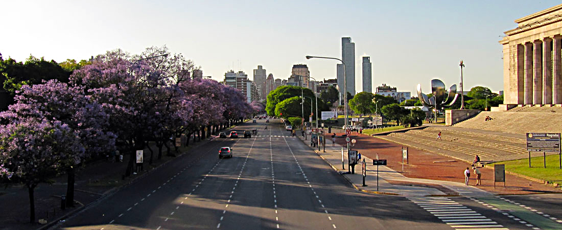 Die Hauptstadt Argentiniens: Buenos Aires - The capital of Argentina: Buenos Aires