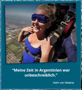 Erfahrungsberichte Argentinien - Melanie über ihr Auslandspraktikum in Südamerika