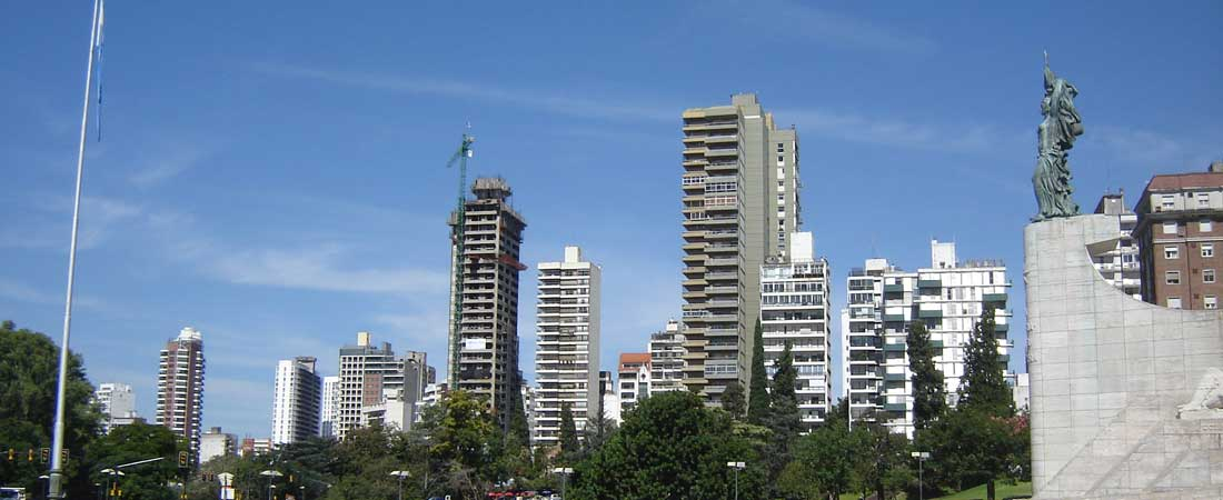 Die drittgrößte Stadt Argentiniens: Rosario - The third largest city of Argentina: Rosario