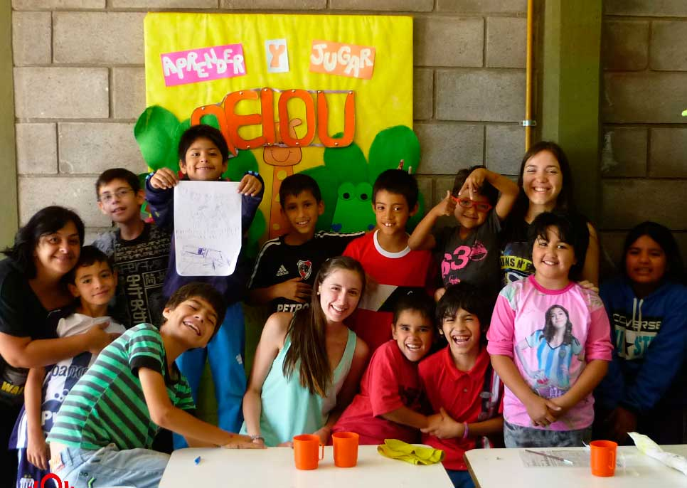Internships and volunteering services in South America - comunity center