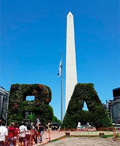 Buenos Aires weekend trip: The Obelisk