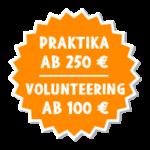 Freiwilligenarbeit und Praktikum im Ausland-KombiPreis